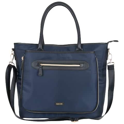 Kenneth Cole Reaction Silky Polyester Anti-theft 15-inch Laptop Travel Business Tote Bag