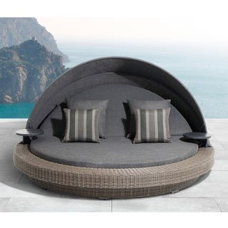 OVE Sarasota Dark Grey Outdoor Daybed