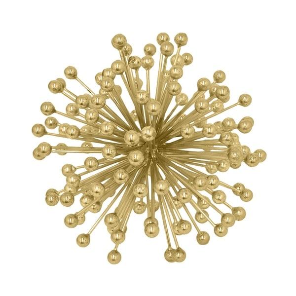 Three Hands Starburst Beads Orb - Brass