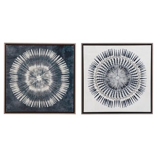 Signature Design by Ashley Monterey Set of 2 Wall Art - Blue/White - N/A