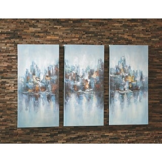 Signature Design by Ashley Saide Set of 3 Wall Art