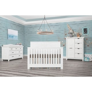 Evolur Belmar Flat 5 in 1 Convertible Crib