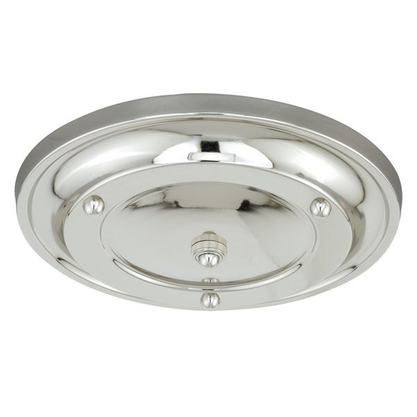Large Canopy Kit Multiple Pendant Holder Satin Nickel