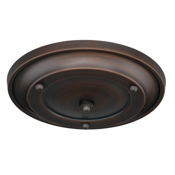 Small Canopy Kit Multiple Pendant Holder Venetian Bronze