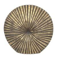Three Hands Brown Decorative Resin Vase
