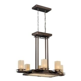 Vaxcel Oak Park 9L Pendant Sienna Bronze