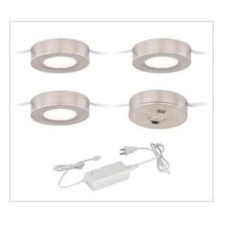 Vaxcel Dual Mount Instalux® Under Cabinet Puck Light 3-pack Kit
