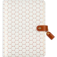"""Color Crush A5 Faux Leather Planner Kit 7.5""""X10"""""""