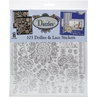 "Dazzles Stickers 7.75""X9"" 2/Pkg"