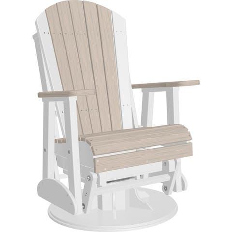 Adirondack Swivel Glider Chair - Recycled Plastic