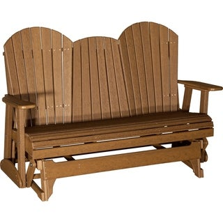 Link to Outdoor 5' Adirondack Glider - Recycled Plastic Similar Items in Patio Furniture