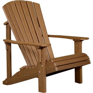 Outdoor Deluxe Adirondack Chair - Recycled Plastic