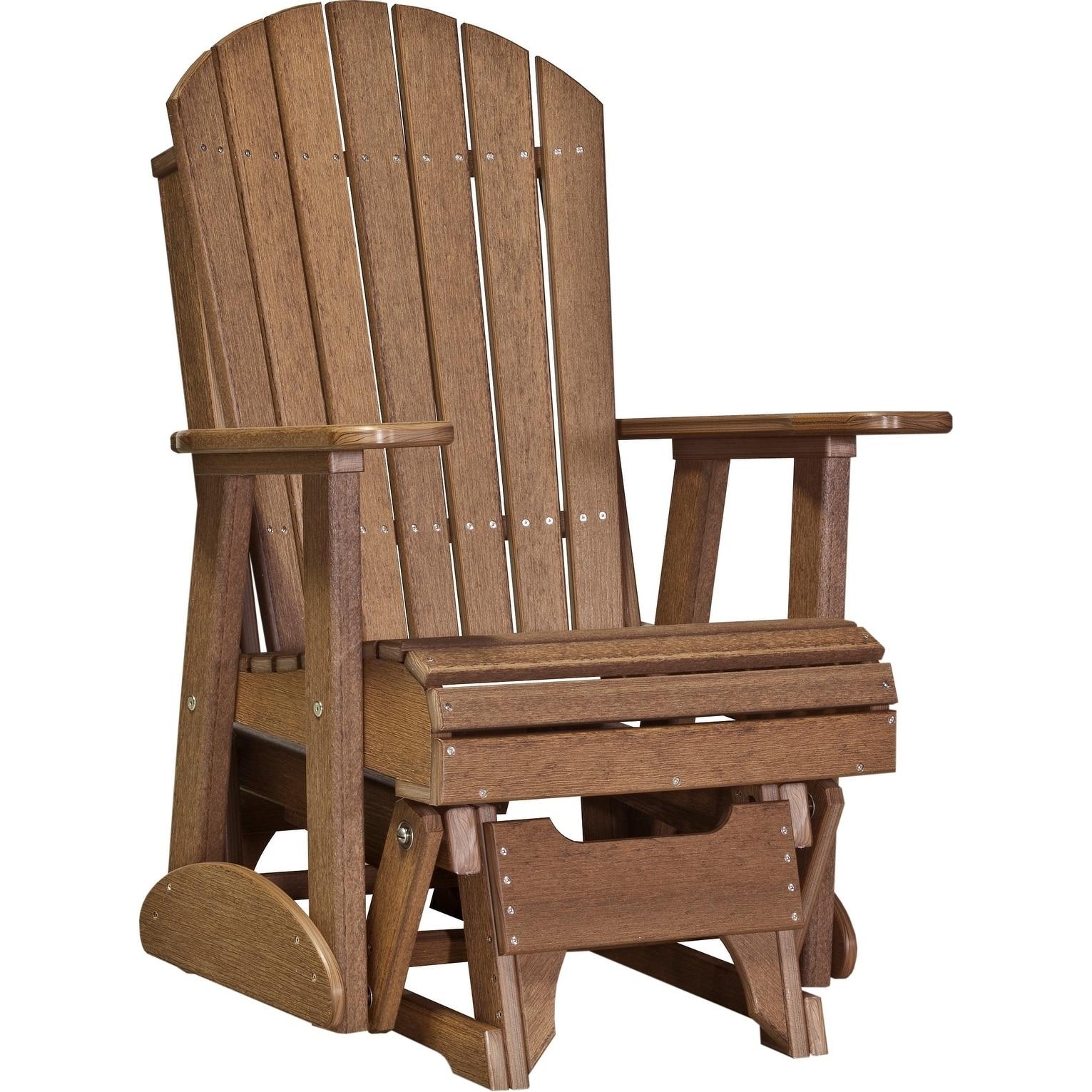 Adirondack Glider Chair Recycled Plastic