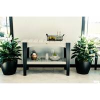 Island Buffet Table - Counter Height