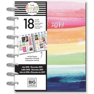 "Happy Planner 18-Month Dated Medium Planner 7.75""X9.75"""
