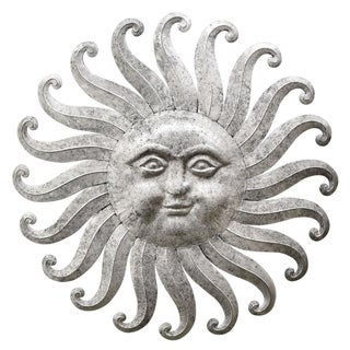 Three Hands Sun Face Wall Decor
