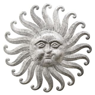 Three Hands Sun Face Wall Decor