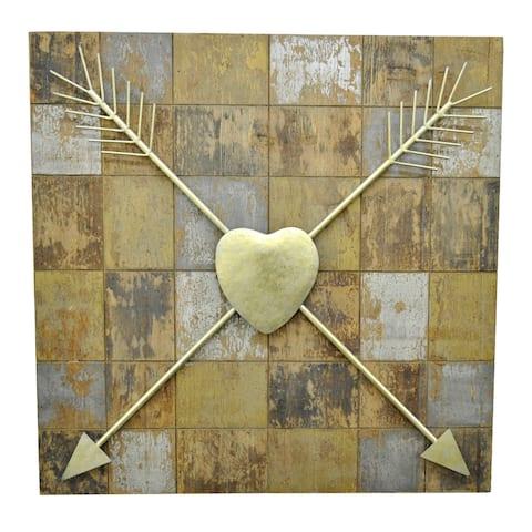 Three Hands Wood / Metal Wall Art