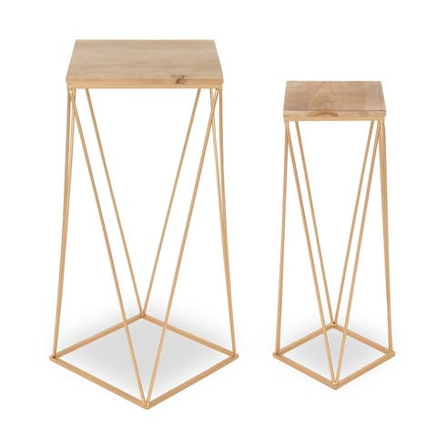 Kate and Laurel Gabriele Nesting End Tables