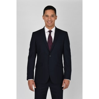 Link to Kenneth Cole Reaction Navy Shadow Check Suit Separate Coat Similar Items in Suits & Suit Separates