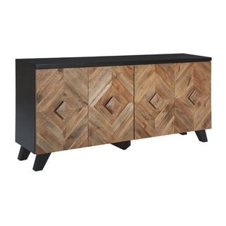 Robin Ridge Brown Contemporary Accent Cabinet