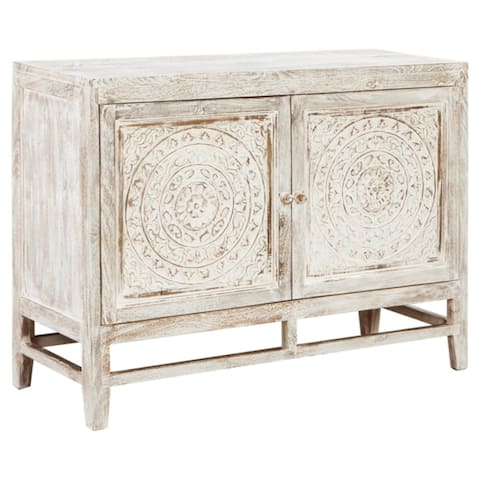 Signature Design by Ashley Fossil Ridge Accent Cabinet