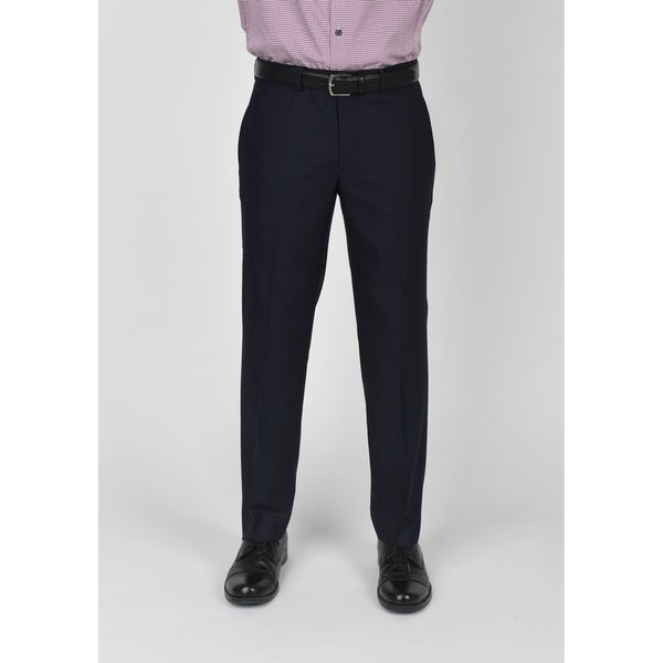 Kenneth Cole Reaction Navy Shadow Check Suit Separate Pant