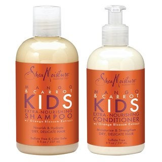 Shea Moisture Mango & Carrot Kids Shampoo and Conditioner Set