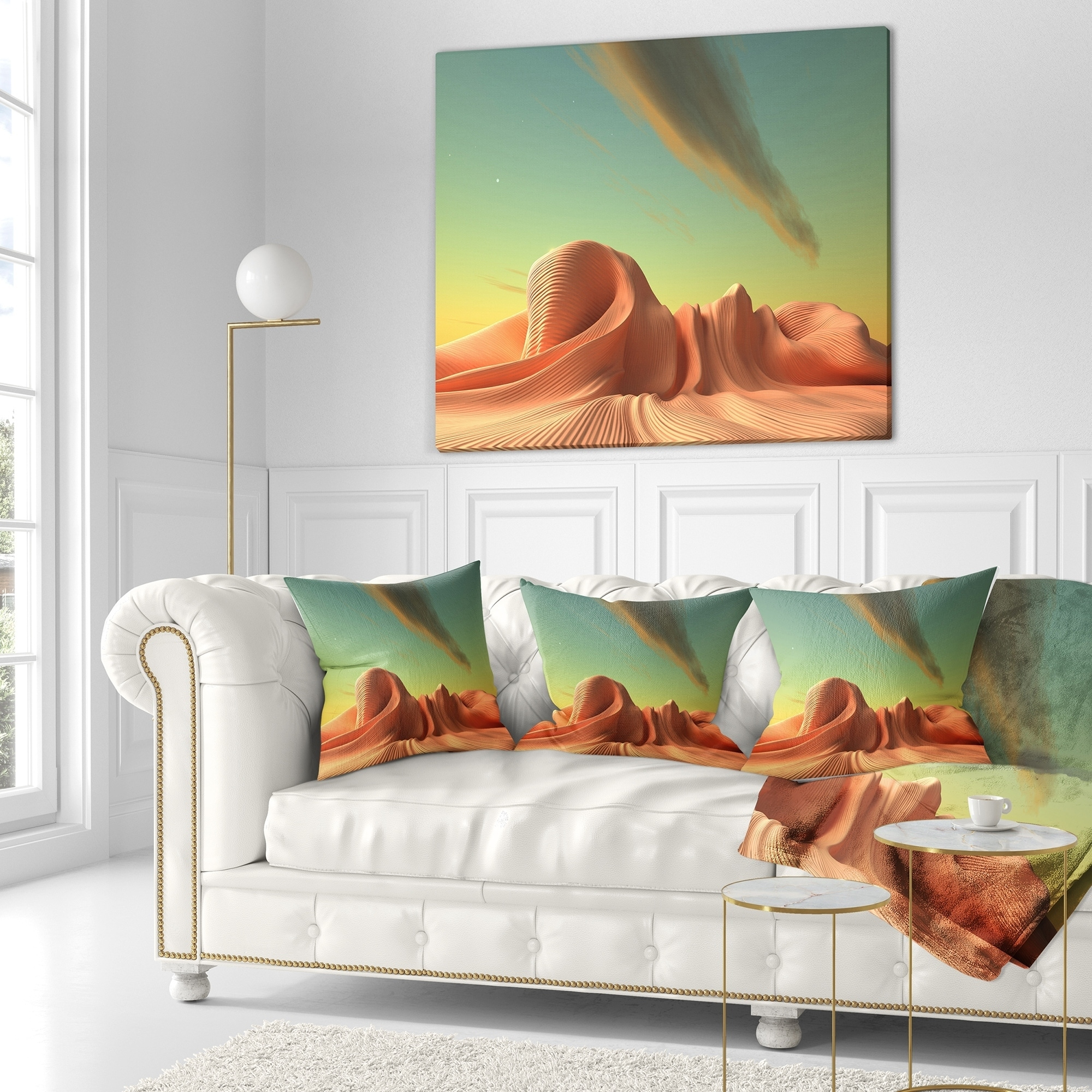 Designart 3d Alien World Surreal Fantasy Contemporary Throw Blanket On Sale Overstock 20910358 71 In X 59 In