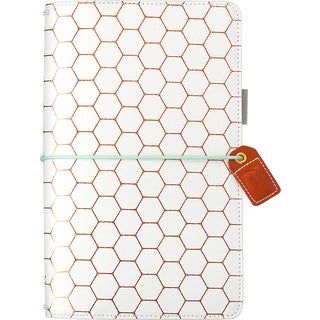 """Color Crush Faux Leather Traveler's Planner 5.75""""X8"""""""