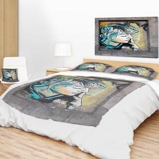 Designart 'Street Art by C215' Street Art Throw Blanket