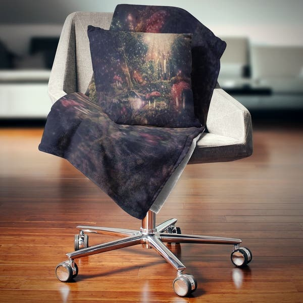 Designart Abstract Collage Art Abstract Throw Blanket On Sale Overstock 20910850 71 In X 59 In