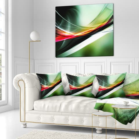 Designart 'Elegant Color Pattern' Abstract Throw Blanket