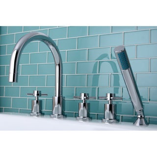 Concord 5-piece Roman Tub Filler Set