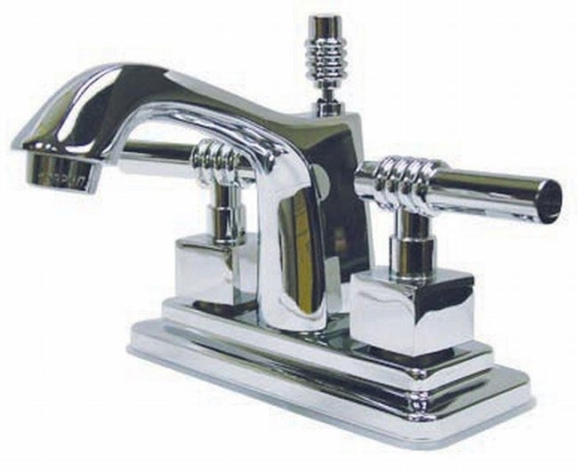 Milano Chrome Centerset Bathroom Faucet