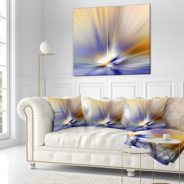 Designart Brown Focus Light Upward Abstract Throw Blanket On Sale Overstock 20911720 71 In X 59 In