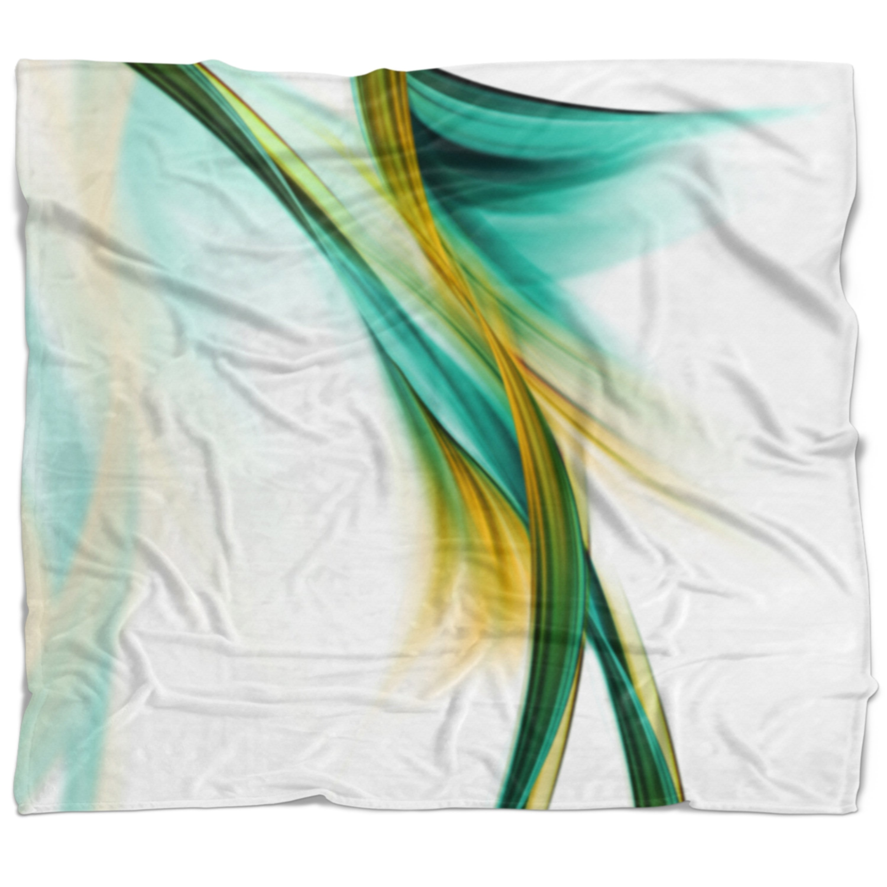Designart Blue Gold Texture Pattern Abstract Throw Blanket On Sale Overstock 20911969 71 In X 59 In