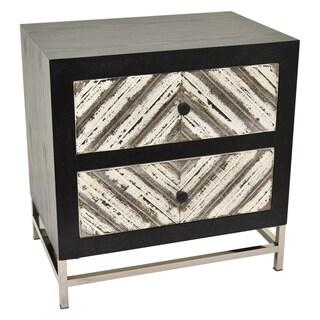 Three Hands Wood/Metal Cabinet