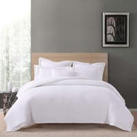 Charisma Luxe Cotton Linen 3 Piece Duvet Cover Set