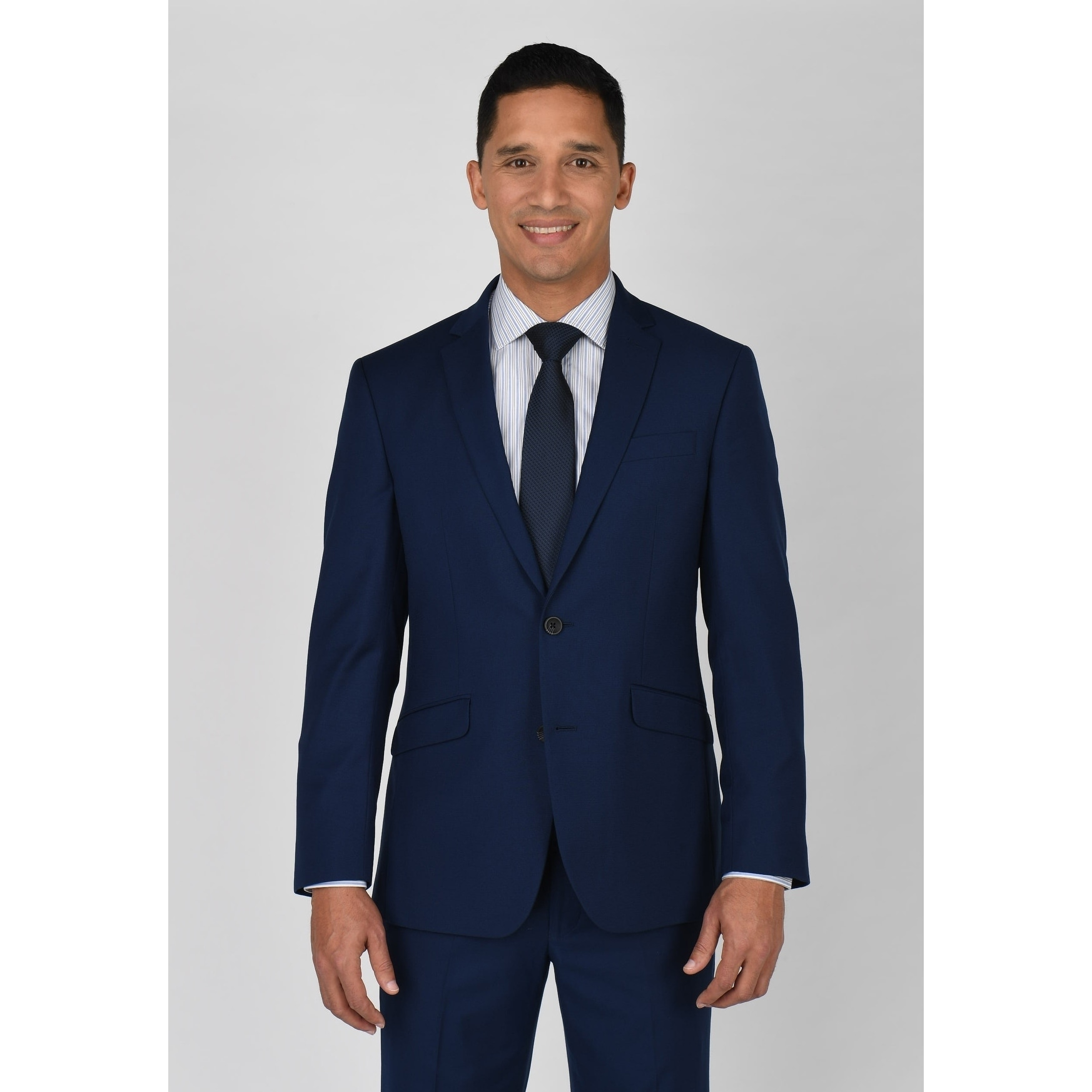 Kenneth Cole New York Mens Slim Fit 2 Button Suit