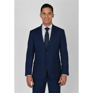 Kenneth Cole Reaction Modern Blue Suit Separate Coat