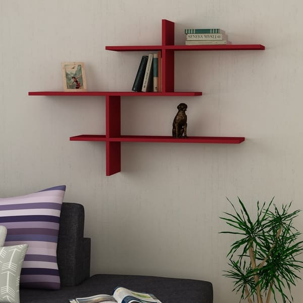 Webster Modern Wall Shelf 48 5 X 31 8