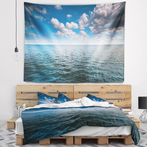 Designart 'Discontinued product' Oversized Beach Wall Tapestry