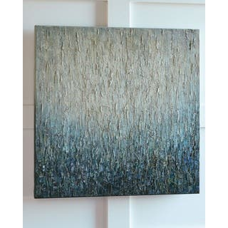 Pearl Ombre Blue Wall Art
