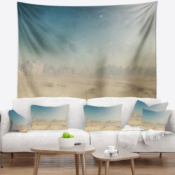 Designart 'Sandy Dessert' Landscape Photography Wall Tapestry