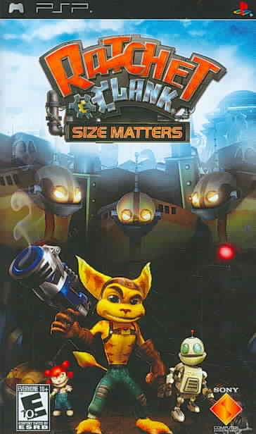 PSP - Ratchet & Clank: Size Matters