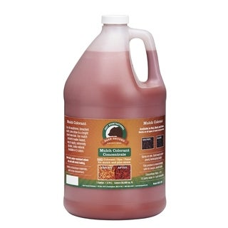 One Gallon Red Concentrated Mulch Colorant