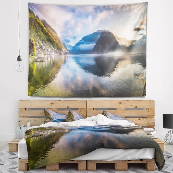 Designart 'Discontinued product' Seashore Wall Tapestry