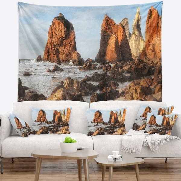 Designart 'Discontinued product' Seascape Wall Tapestry