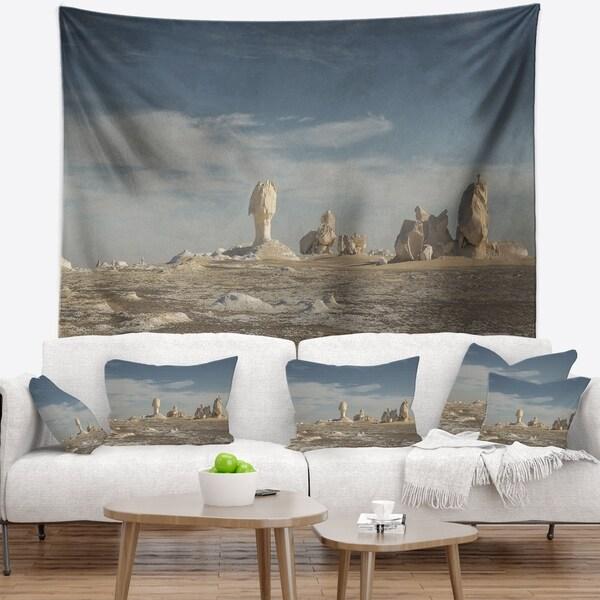 Designart 'Desert of Egypt' Landscape Photography Wall Tapestry